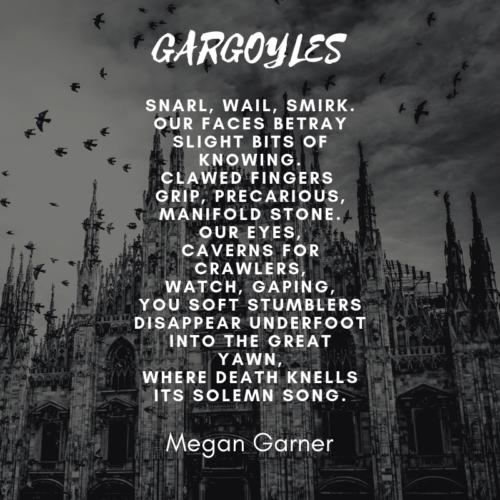 micropoem - nevermore - gargoyles