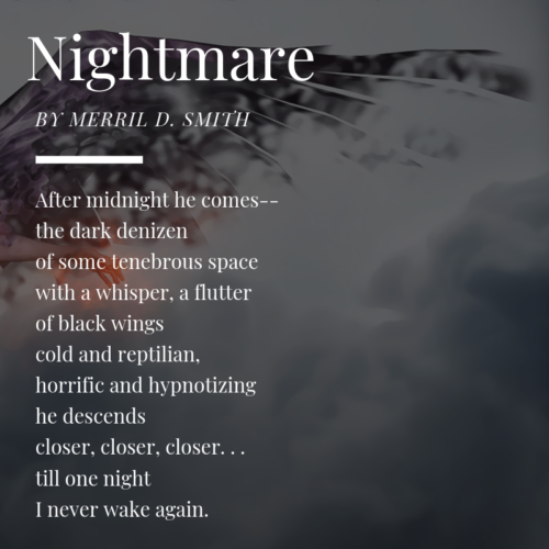 micropoem - nevermore - nightmare
