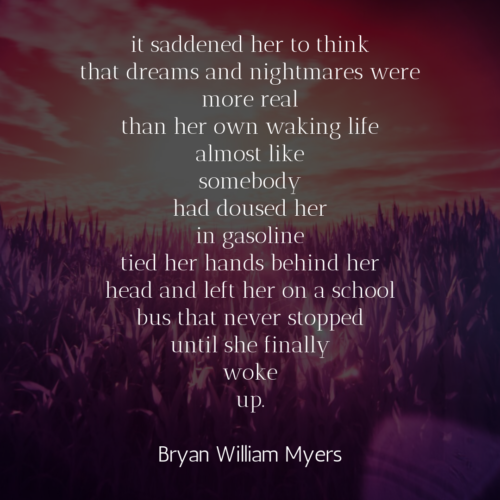 [it saddened her to think]