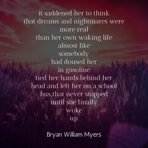 [it saddened her to think]