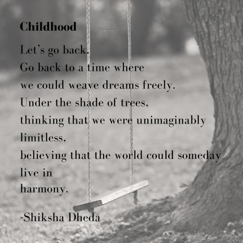 Childhood - Shiksha Dheda
